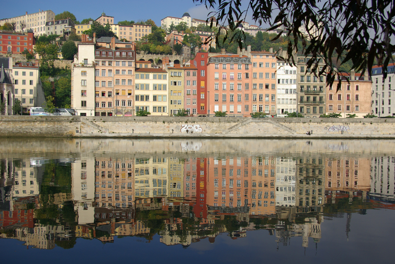 Lyon, Saone banks (courtesy J.-M. Muller)